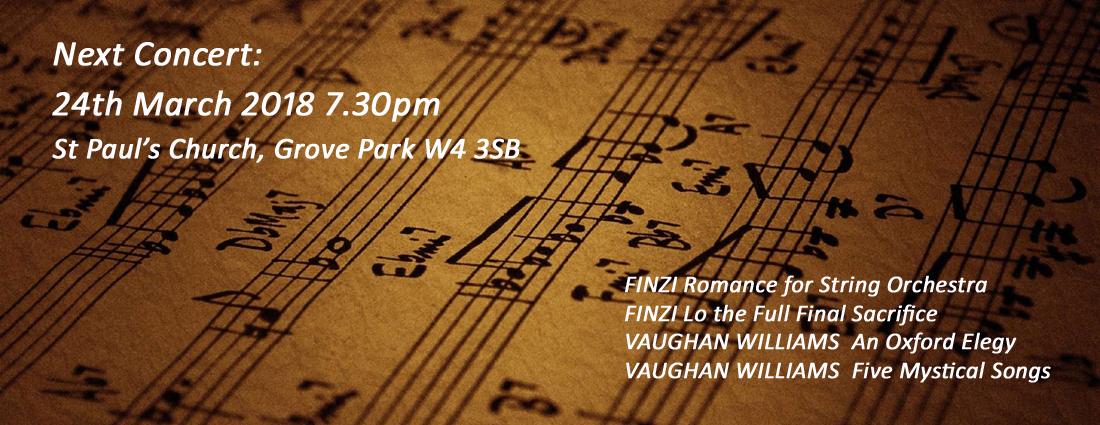 Chiswick Choir Autumn Concert